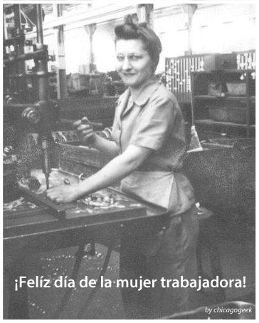 mujer y trabajadora